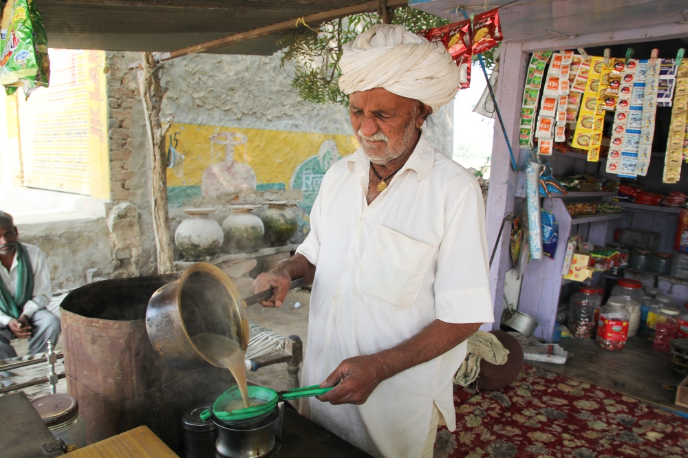 Chaiwallah in Rajasthan