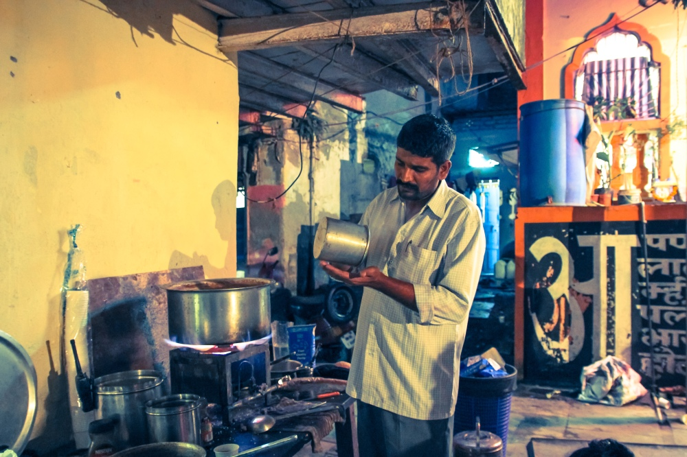 Chhotu chaiwallah in Mumbai